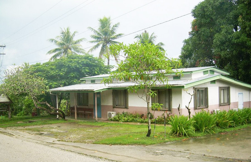 Yap Legal Services Office, up the hill from the Traders Ridge Resort, 2011