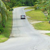Entering Delipebinaw, on the paved road around Yap