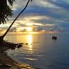 Sunset at Fanif Beach